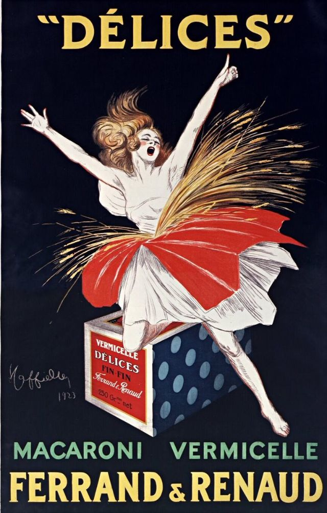 Biscuits Delices Ferrand & Renaud, 1923