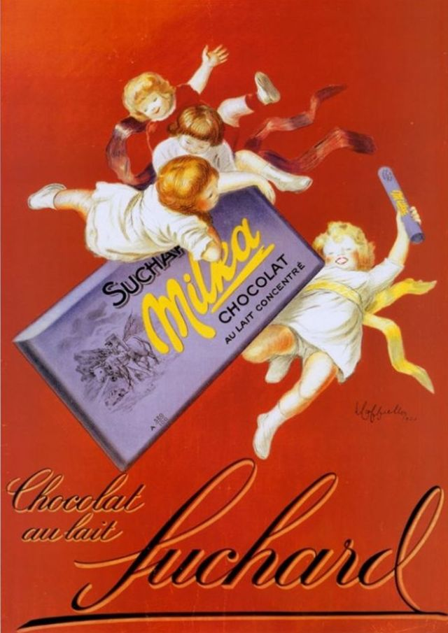 Chocolat au lait Suchard, 1925