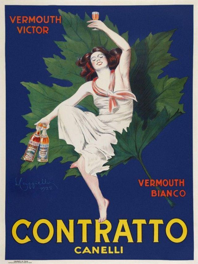 CONTRATTO Canelli, 1925