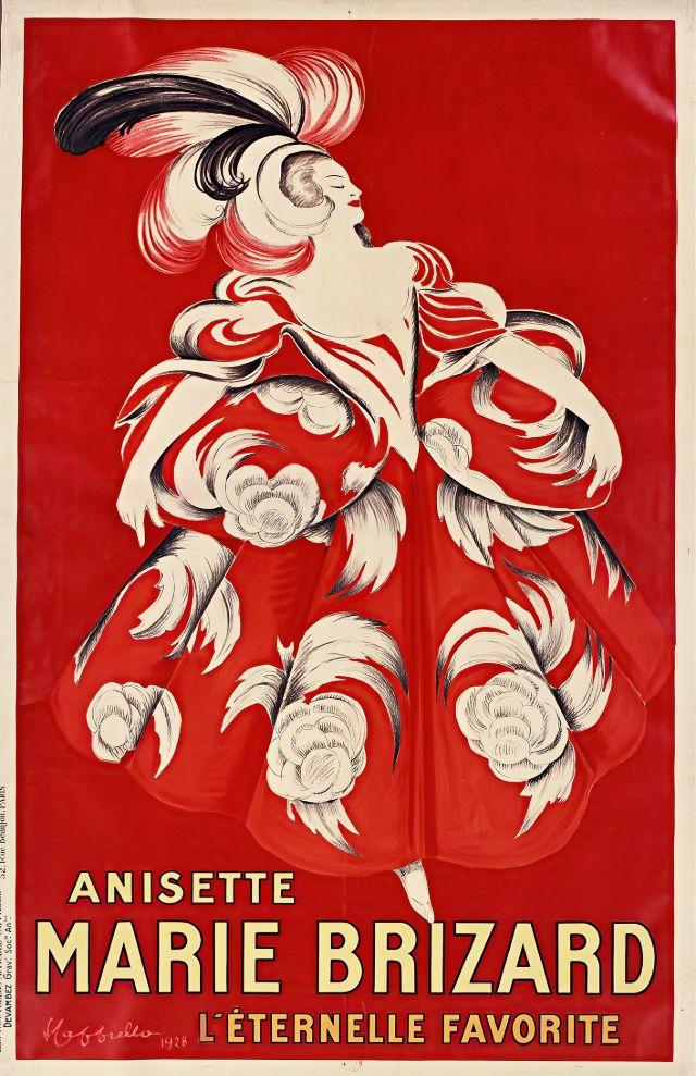 Anisette MARIE BRIZARD, 1928