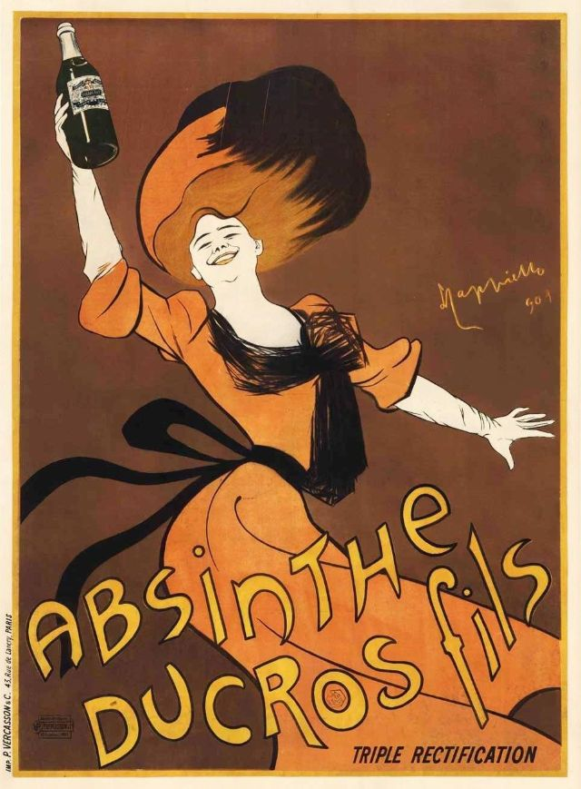 Absinthe Ducros Fils, 1901