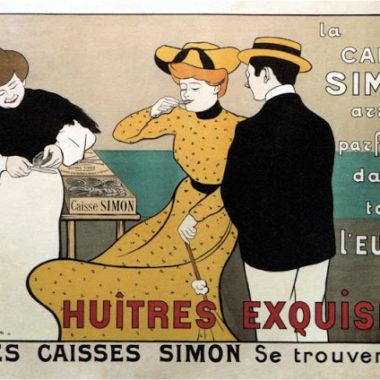 Huitres Exquises, 1901. Художник: Леонетто Каппьелло