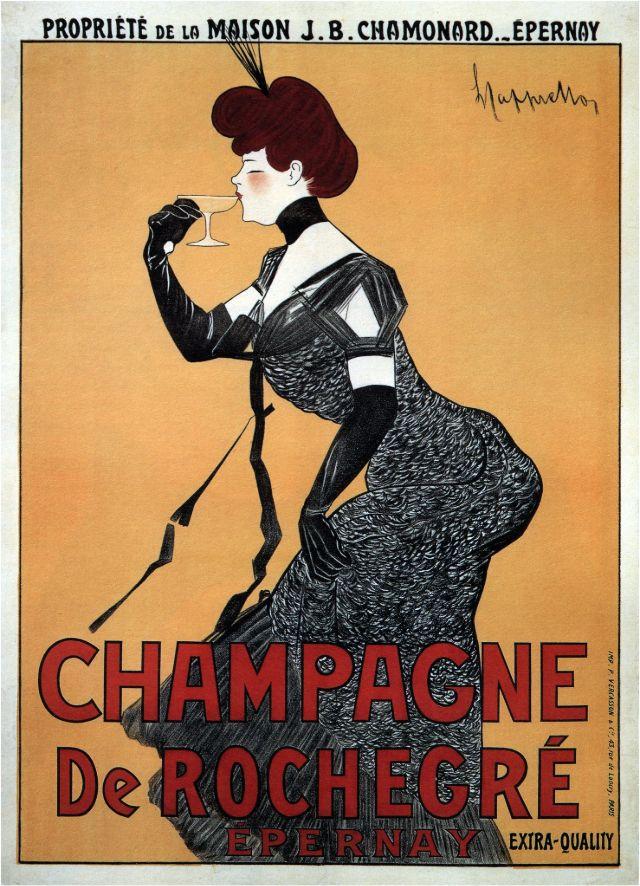 CHAMPAGNE De ROCHEGRÉ, 1902