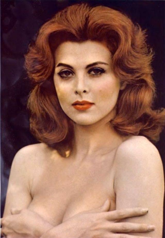 Тина Луиза, цветные фотографии, 1960
