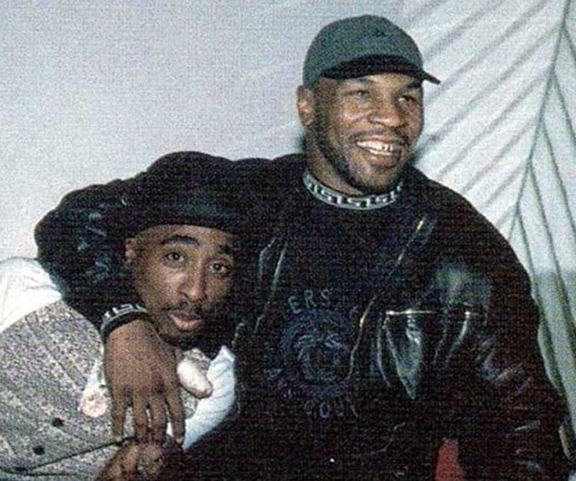 Майк и Тупак Шакур, 1996 год.