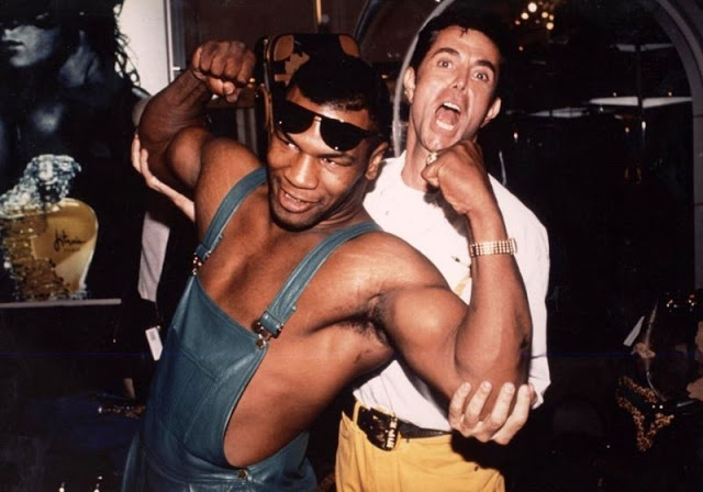 Майк Тайсон с Жан-Клодом Житруа, 1988 год.