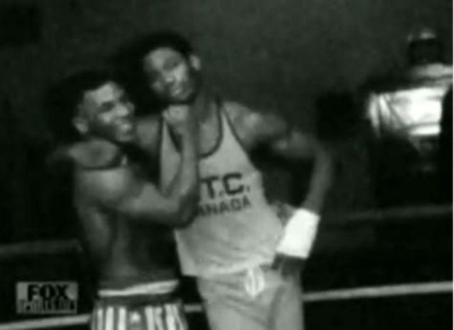 Тайсон и Леннокс Льюис, 1981 год.