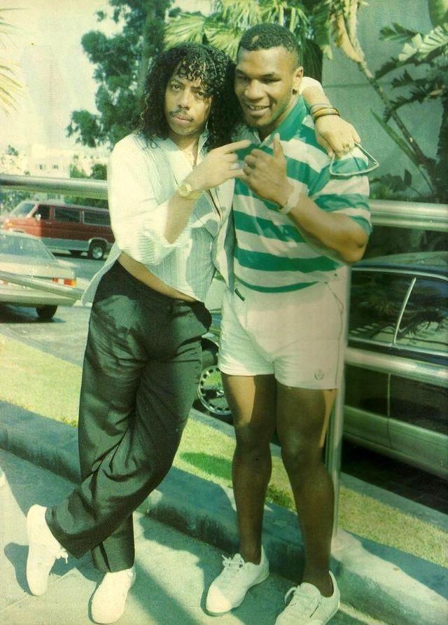 Рик Джеймс и Майк, 1990 год.