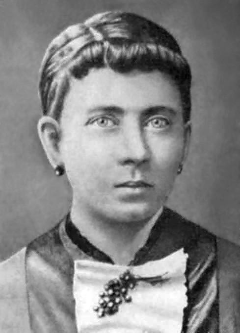 Клара Гитлер, портрет. Мать Адольфа Гитлера.
