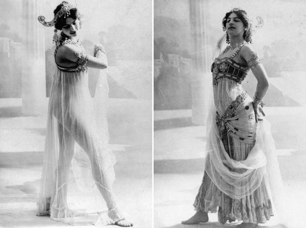 К 1905 году Мата Хари начала завоевывать славу экзотической танцовщицы.
