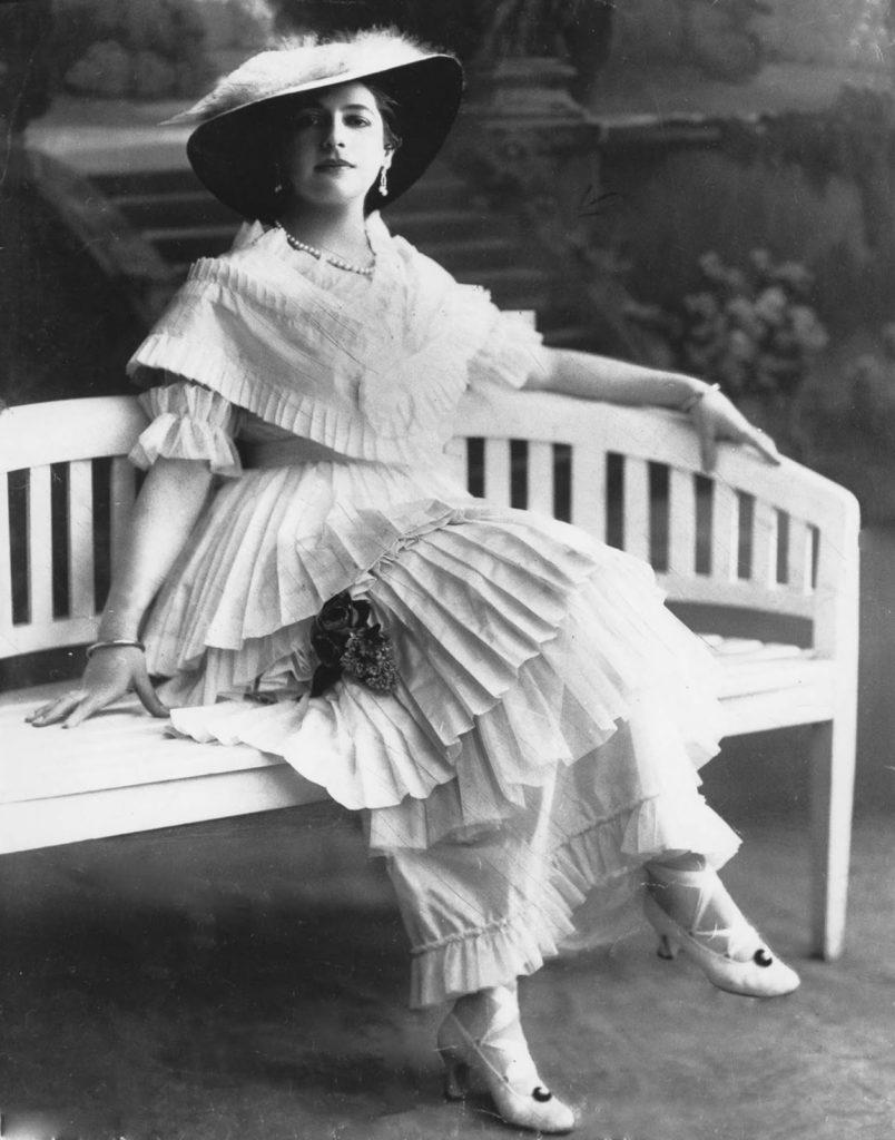 Мата Хари в 1914 году.