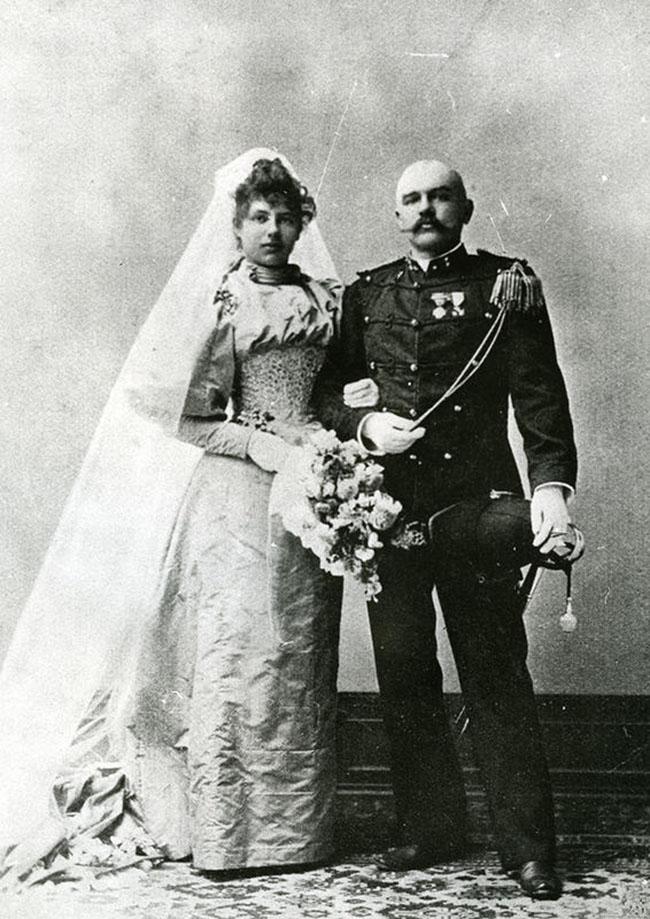 Мата Хари и Рудольф МакЛауд, 1895 год.