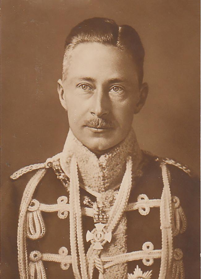 Вильгельм, принц-наследник Германии и Пруссии в 1914 году. Мате Хари было поручено соблазнить его (Источник: Public Domain).
