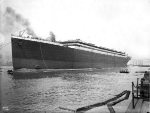 Строительство Титаника