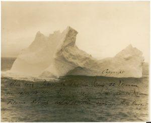 "Айсберг потописвший ""Титаник"""