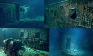 Титаник на дне